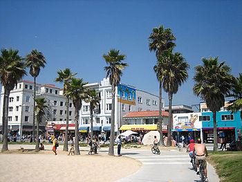 Venice Beach en promenade
