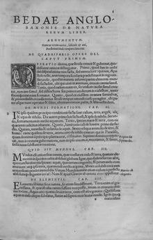 De natura rerum , 1529