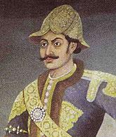 Bhimsen Thapa van de krachtige Thāpā Khalaka-dynastie, de beroemdste onder de Thapa's