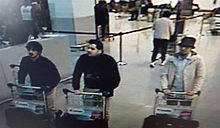 Brusselse verdachte op CCTV