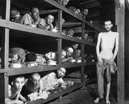 Häftlinge des Konzentrationslagers Buchenwald in Nazideutschland während des Zweiten Weltkriegs