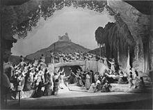 Laatste scène, Bayreuth Festspielehaus, 1930