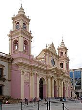 Собор в Сальта-Сити, Аргентина.
