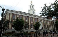 Radnice v Burlingtonu byla místem, kde Sanders pracoval v době, kdy byl starostou.