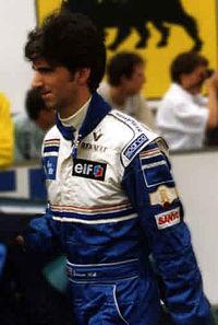 1995年フランスGPでのデイモン・ヒル