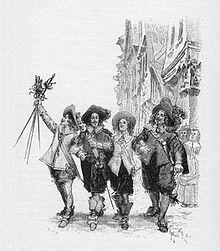 De Drie Musketiers van Alexandre Dumas