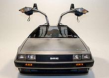 DeLorean DMC 12 mit von Lotus entworfenem Fahrgestell
