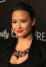 Demi Lovato, zangeres, actrice en schrijfster die heeft gezegd dat ze een bipolaire stoornis heeft...