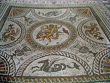 Mozaika delfinów