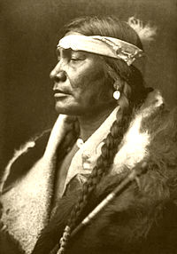 Portrait of a Native American