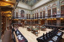 布达佩斯的Eötvös Loránd大学图书馆