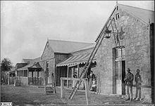 Transcontinental Hotel, Farina, 1900