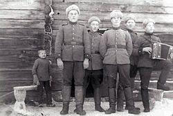 Finse soldaten ten tijde van de oorlog