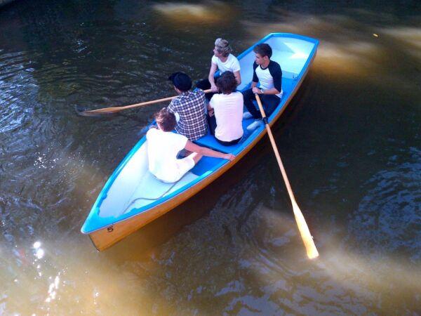 Van links naar rechts: Harry Styles, Zayn Malik, Niall Horan, Liam Payne en Louis Tomlinson.