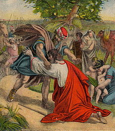 Vergeef, en gij zult vergeven worden (1907), een schilderij van Julius Schnorr von Carolsfeld.