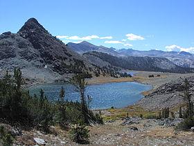 Gaylor Lakes, im Yosemite