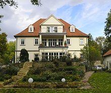 Het huis in Gotha, waar Weishaupt van 1786 tot zijn dood woonde.