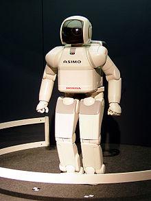 De Honda ASIMO robot