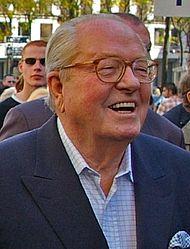 Jean-Marie Le Pen, oprichter en leider van 1972 tot 2011.