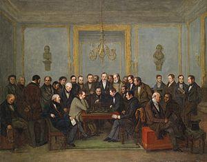 De beroemde schaakpartij tussen Howard Staunton en Pierre Saint-Amant, op 16 december 1843