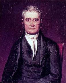 首席大法官约翰-马歇尔确立了对商业条款的广义解释。