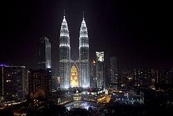 De hoofdstad van de Maleisische provincie Kuala. De hoofdstad is Kuala Lampar.