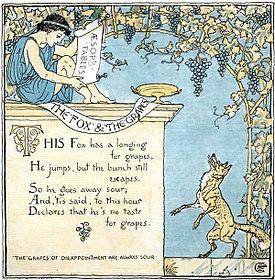 Une illustration de la fable