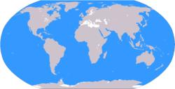 - Arktischer Ozean- Atlantischer Ozean- Indischer Ozean- Pazifischer Ozean- Südlicher Ozean