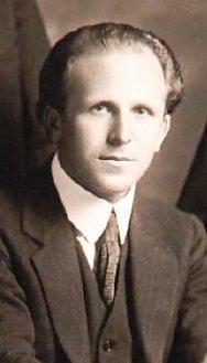 Das Porträt von Louis Persinger (vor 1928)