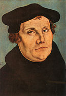 Мартин Лютер (1483-1546) начал протестантскую Реформацию.