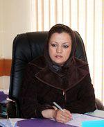 Maria Bashir aan het werk.
