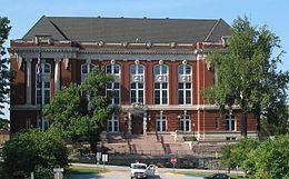 Здание Верховного суда штата Миссури в Джефферсоне.