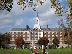 Moors Hall, Radcliffe Quadrangle, Harvard University
