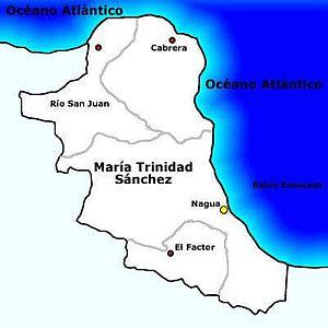 Gemeenten in de provincie María Trinidad Sánchez