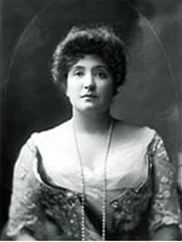 Portret van Dame Nellie Melba GBE door Henry Walter Barnett