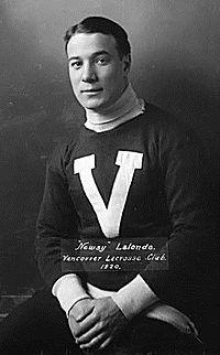 Newsy Lalonde, introduzido em 1950.