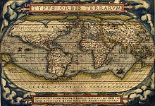 Een wereldkaart van Abraham Ortelius, 1570