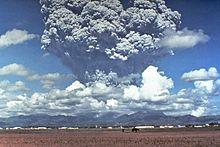 Mt.Pinatubo uitbarsting, 1991
