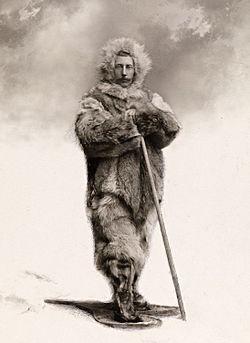 Roald Amundsen, norwegischer Entdecker des Nord- und Südpols