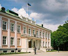 Prezidentský palác v Kadriorgu, Tallinn.