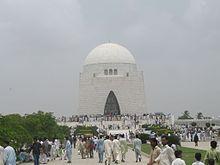 Grabmal von Quaid-e-Azam Muhammad Ali Jinnah, dem Gründer Pakistans