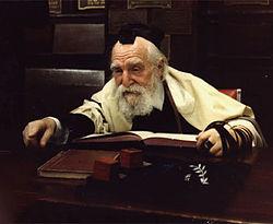 Rabbiner Moshe Feinstein, eine führende rabbinische Autorität in der zweiten Hälfte des zwanzigsten Jahrhunderts.