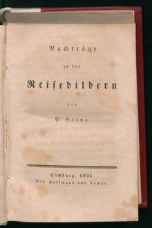 Reisebilder , 1831