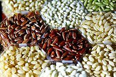 Το ρύζι μπορεί να έχει πολλά σχήματα, χρώματα και μεγέθη.