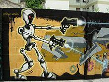 Robot schutter