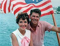 Ronald a Nancy Reaganovi v Kalifornii v roce 1964