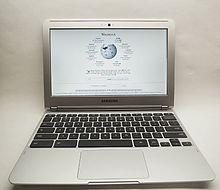 Wikipedia op een Samsung Chromebook