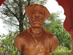 Subedar NarVeer Tanaji Malusare era un Mahratta/Maratha Sardar, che condusse le forze di Maratha ad una vittoria decisiva nella 'Battaglia di Sinhgad' (1670 CE)