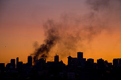 Rookbolletjes uit het centrum van Vancouver