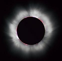De zonsverduistering van 1999.